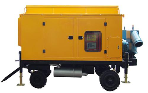 吸油移动泵车