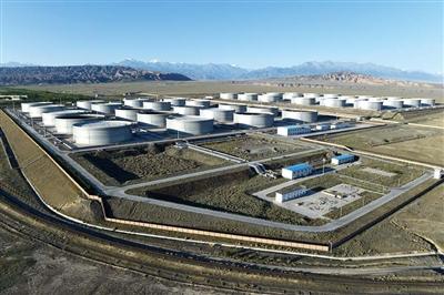 独山子国家石油储备基地20160907