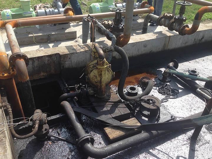 油轮废原油倒灌泵使用转子泵的优势