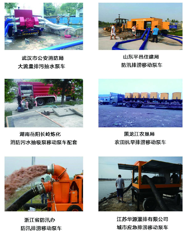 博天堂官网注册拖车式移动泵车应用案例