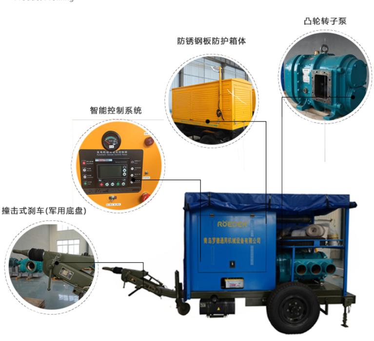 博天堂官网注册移动拖车式移动泵车