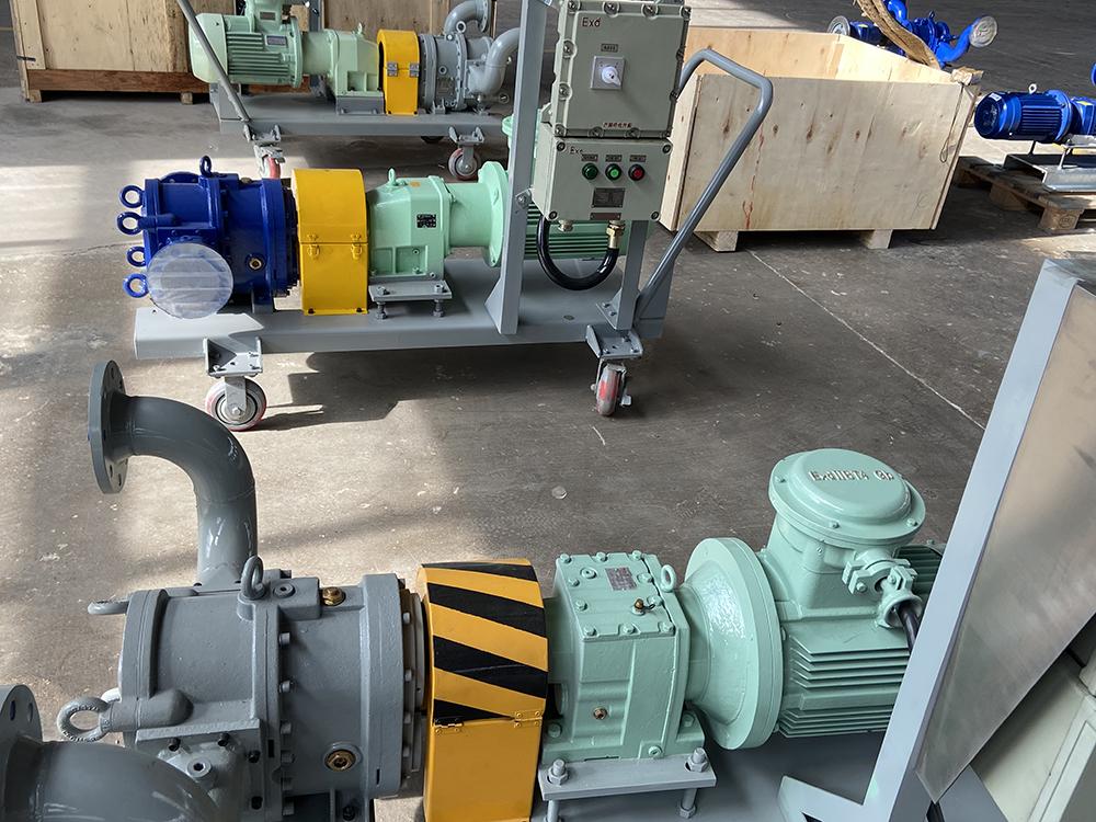 手推车凸轮转子泵组