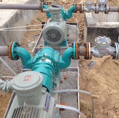 烟台凸轮转子泵-中海油含油污水提升泵