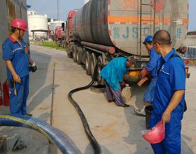 山东转子泵应用---中石化燃料油卸车泵