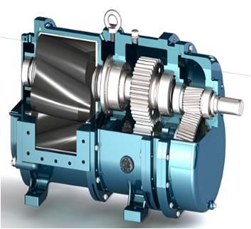 污水处理厂沉淀池应用凸轮转子泵