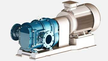 地下污水处理厂首选罗德凸轮转子泵