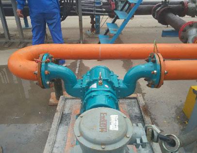 淄博转子泵应用---甲醇卸车泵