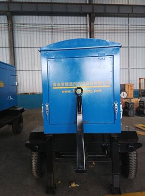 青岛罗德移动泵车按约为客户发货