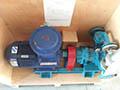 东营客户订购的罗德排污转子泵按约从工厂发货。