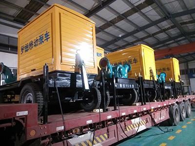 黑龙江某农场国家节水增粮项目---移动灌溉泵车