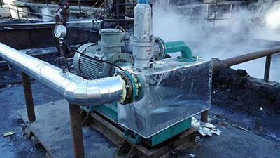 内蒙古金鑫化工矿区煤渣水抽吸泵