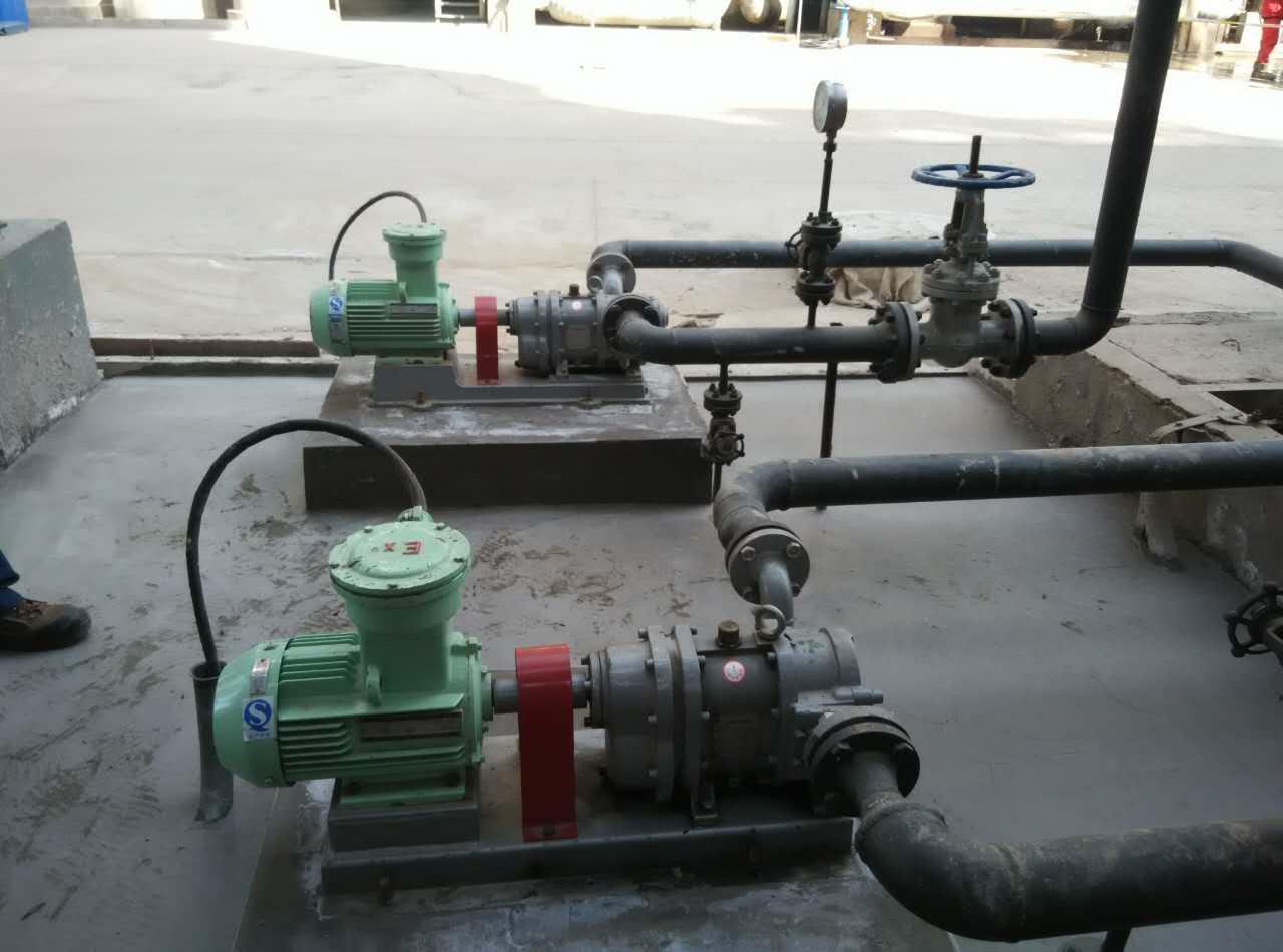 中石油华北石化耐磨损凸轮转子泵