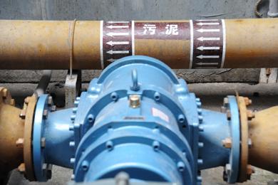 罗德凸轮转子泵中山应用案例—沉淀池污泥自吸泵