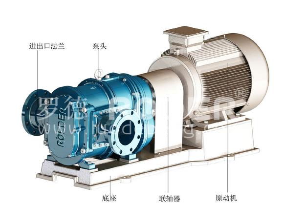 罗德凸轮转子泵在污水处理厂应用举例(可作为选型参考)