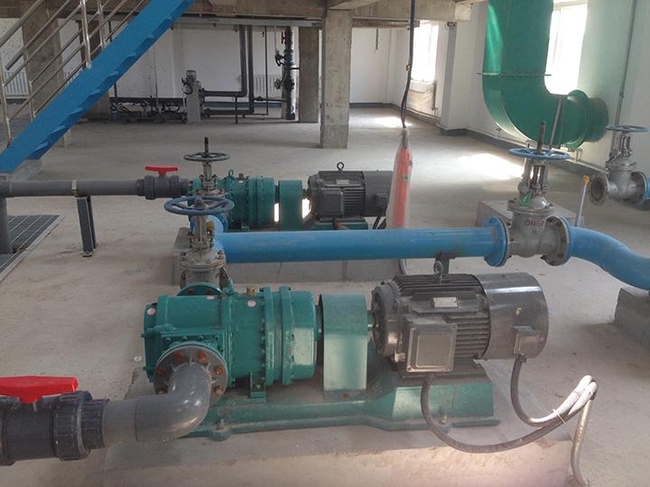 罗德转子泵适合处理污水厂剩余污泥的原因