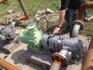 罗德转子泵非常适合处理油田含油污水的原因
