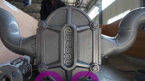 中石油河北客户定购的罗德凸轮转子泵发货