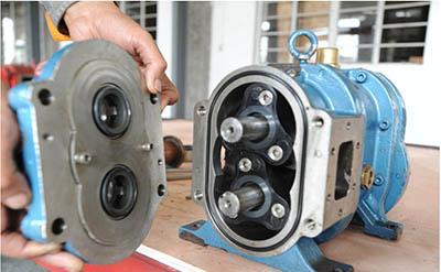 【上海】炼化厂污水处理选择罗德橡胶凸轮转子泵