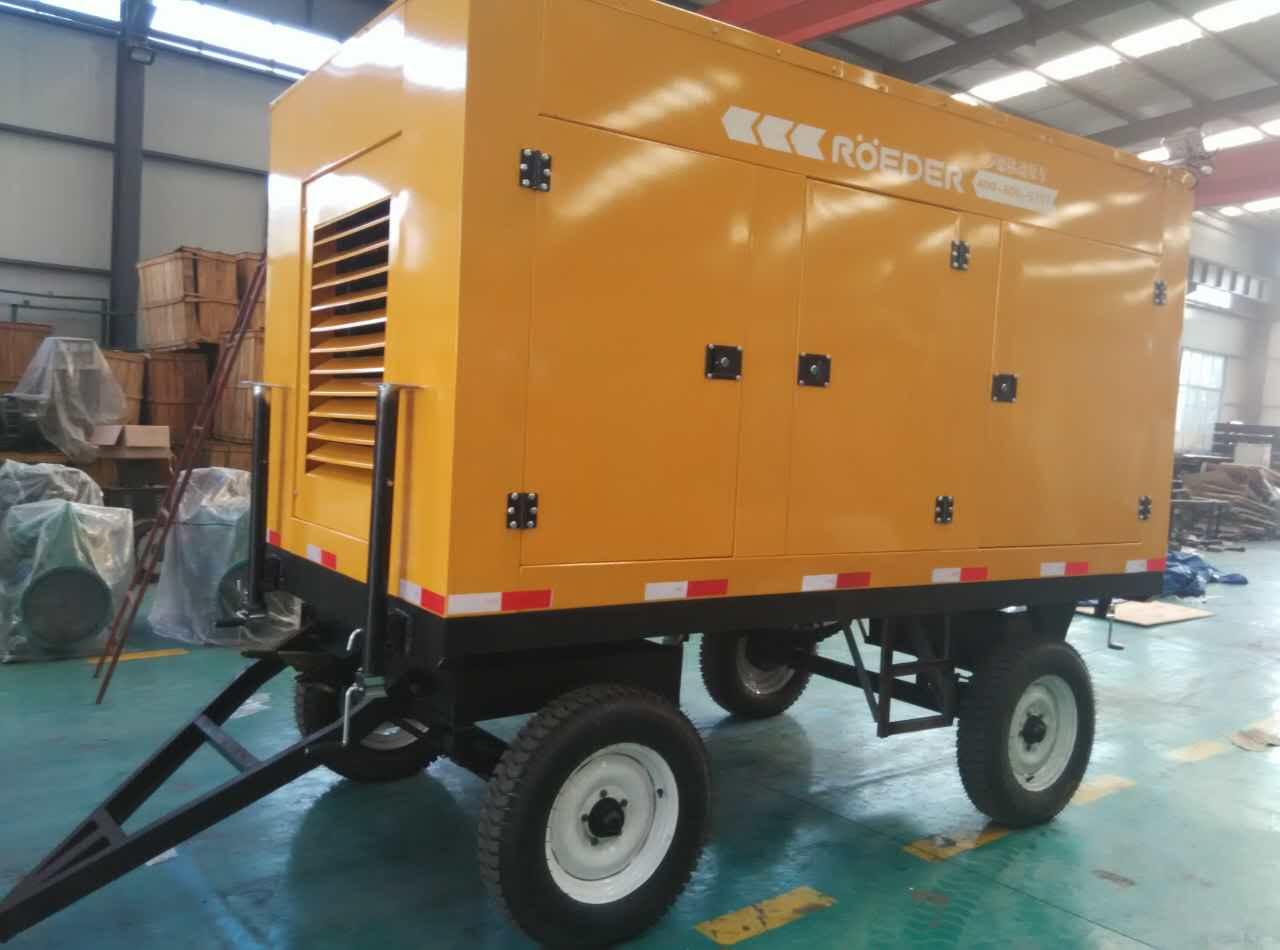 防汛排水泵车优点用途分析
