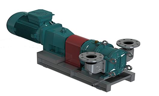 凸轮转子泵的工作原理与结构