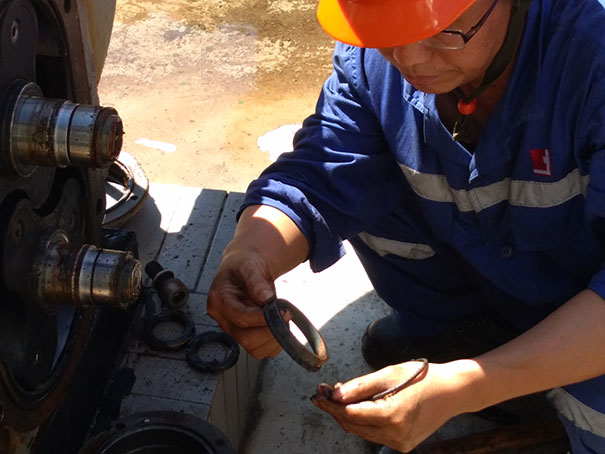 罗德技术团队现场技术服务实录