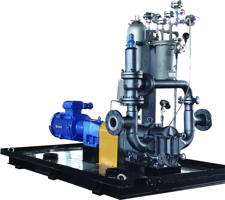 高粘度凸轮转子泵应用--山东某药业集团