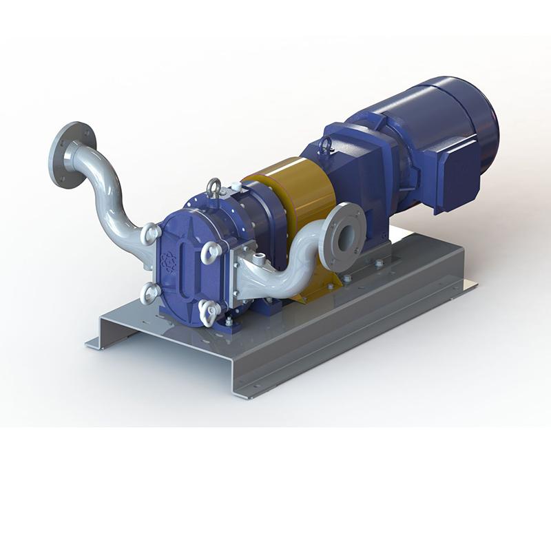 含砂污水转子自吸泵-伊犁某煤化工集团