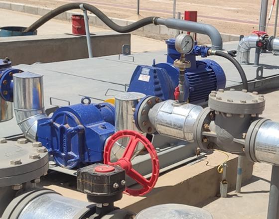中石油天然气陕西某分公司-含油污水转子泵