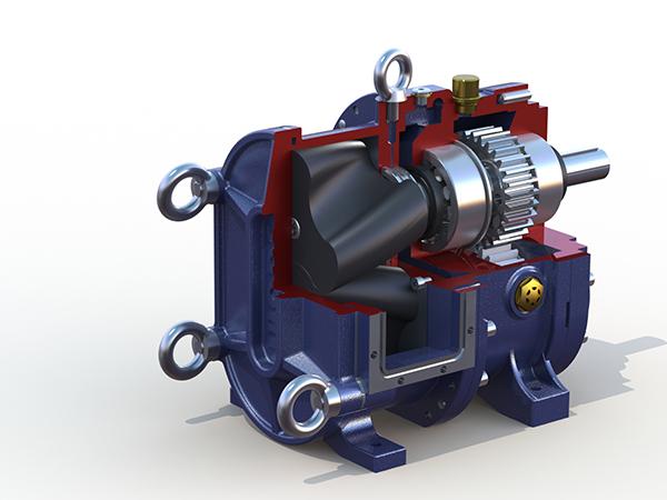 选用污泥转子泵输送磁粉污泥的技术要求