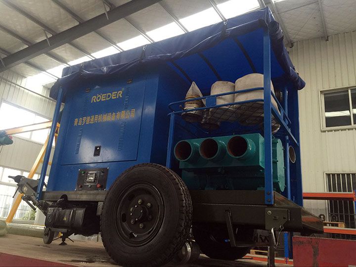 农场节水灌溉自吸移动泵车