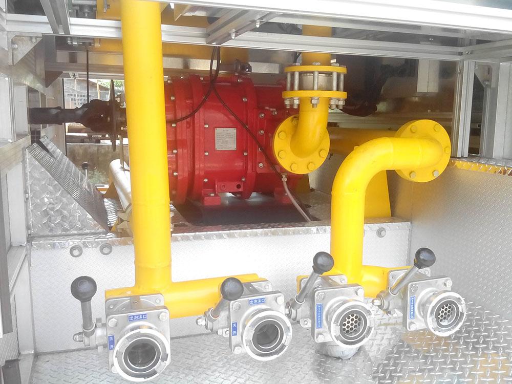 消防泡沫液转子泵