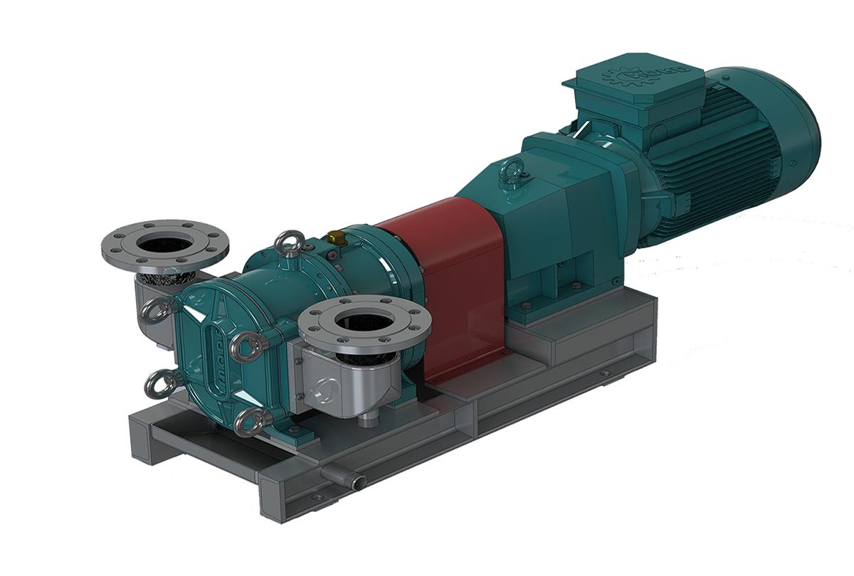 罗德凸轮转子泵