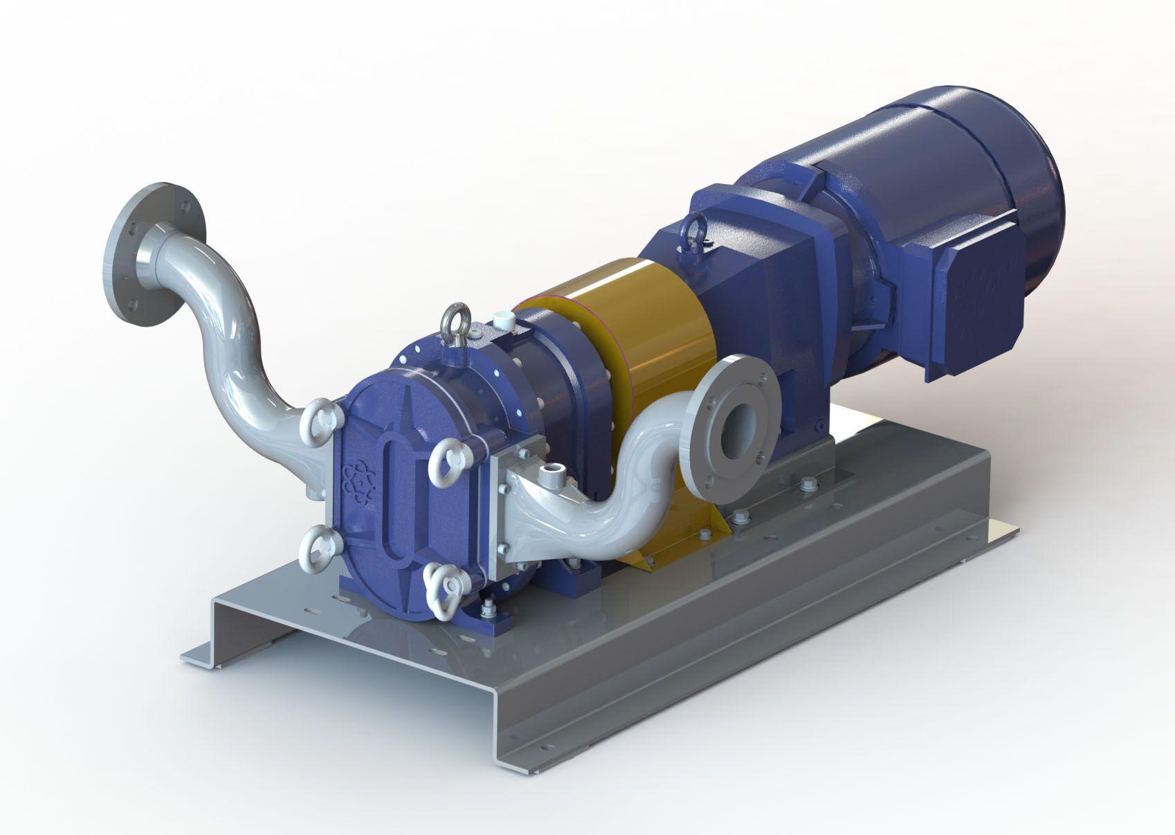 强自吸凸轮转子泵