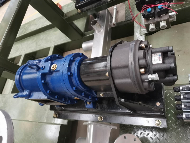 罗德融雪剂洒布车配套转子泵