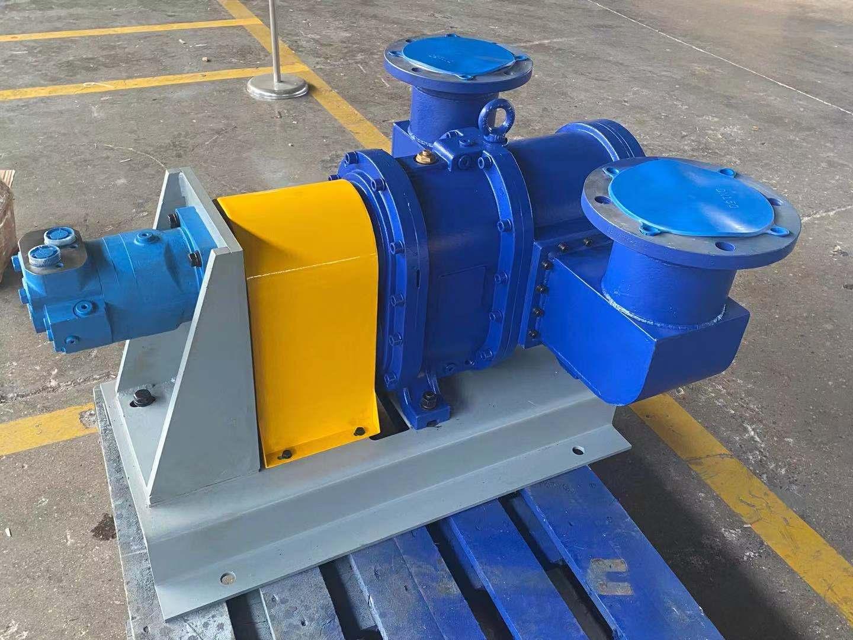 罗德机器人撬装涵洞污泥抽排泵